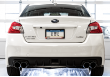 2011-2019 Subaru WRX STI / 2.5L Turbo / Cat Back Exhaust / Track / Resonated / Quad Black Tips (SKU: 3020-43066-WRX-STI)