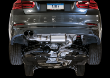 2017-2019 BMW 430i / 2.0L Turbo / Axle Back Exhaust / Single Side / Touring / Resonated / Silver Tips 80mm (SKU: AWE-430i-3010-22022)