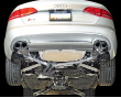 2013-2016 Audi S4 B8.5 / 3.0L Turbo / Cat Back Exhaust / Touring / Resonated / Silver Tips 102mm (SKU: AWE-3010-42016)