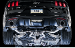 2015-2017 Mustang GT / 5.0L / Cat Back Exhaust / Touring / Resonated / Black Tips (SKU: AWE-3015-33084)