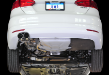 2005-2010 VW Jetta 2.5L / MK5 / Cat Back Exhaust / Track / Resonated / Silver Tips (SKU: AWE-3020-22024)