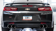 2016-2019 Camaro SS / 6.2L / Axle Back Exhaust / Quad Outlet / Touring / Resonated / Black Tips (SKU: AWE-SS-3015-43115)