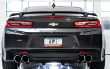 2016-2019 Camaro SS / 6.2L / Axle Back Exhaust / Quad Outlet / Track / Non-Resonated / Silver Tips (SKU: AWE-SS-3020-42067)
