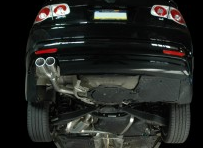 2006-2009 VW Rabbit 2.5L / Cat Back Exhaust / Track / Resonated