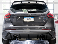 2016-2018 Ford Focus RS / 2.3L Turbo / Cat Back Exhaust / Track / Resonated / Silver Tips
