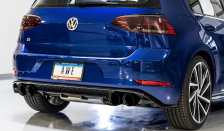 2018-2019 VW Golf R 2.0L Turbo / MK7.5 / SwitchPath Exhaust / Non-Resonated / Black Tips 102mm