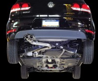 2010-2013 VW MK6 Golf 2.5L / Cat Back Exhaust / Track / Resonated
