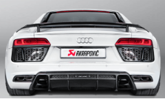 2016-2018 Audi R8 5.2 FSI / Coupe / Spyder / Akrapovic Sound Kit