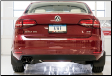 2014-2018 VW Jetta 1.8 T / MK6 / Cat Back Exhaust / Track / Resonated / Black Tips