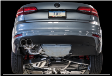 2016-2018 VW Jetta 1.4 T / MK6 / Cat Back Exhaust / Track / Resonated / Black Tips