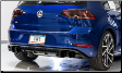 2015-2017 VW Golf R 2.0L Turbo / MK7 / SwitchPath Exhaust / Non-Resonated / Black Tips 102mm