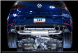 2018-2019 VW Golf R 2.0L Turbo / MK7.5 / SwitchPath Exhaust / Non-Resonated / Silver Tips 102mm