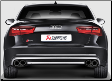 2013-2017 Audi S6 Avant ( C7 ) / Akrapovic Titanium Cat Back / Carbon Fiber Tips